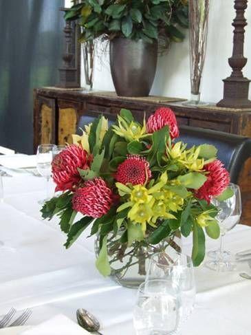 beautiful Australian native flower bouquet