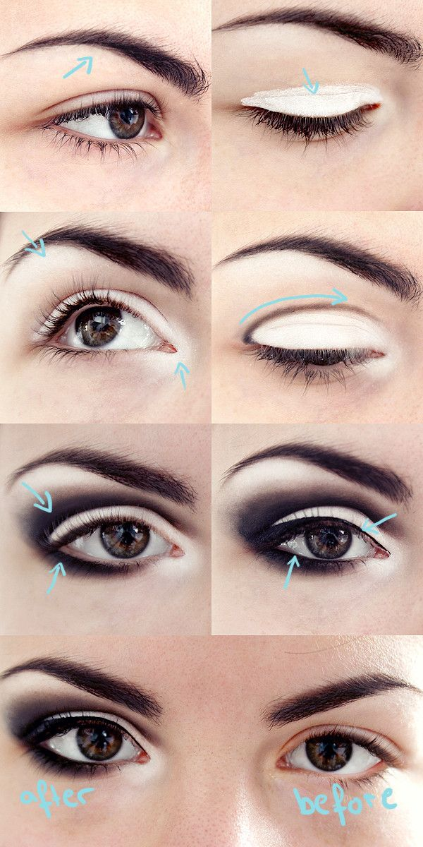 Smoky eye: Smoky eye