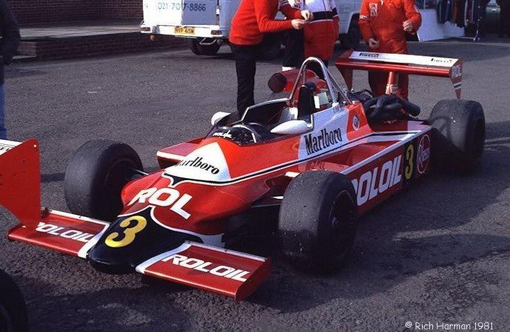 Corrado Fabi - March 812 BMW/Rosche (Roloil Marlboro March Racing Ltd) - International Trophy, Silverstone 1981