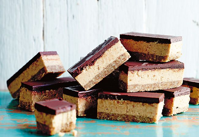 Luke Hines on healthy eating + salted caramel slice recipe | Australian Natural Health Magazine