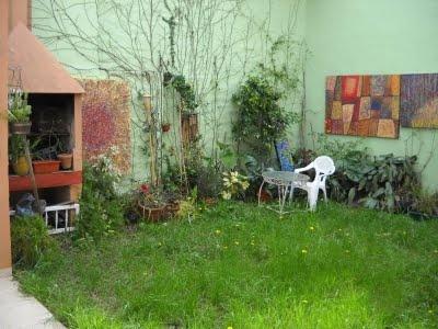 Mi cuadro en jardín