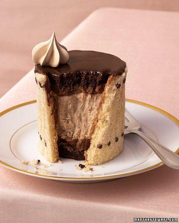 Chocolate-espresso charlottes #chocolates #sweet #yummy #delicious #food #chocolaterecipes #choco