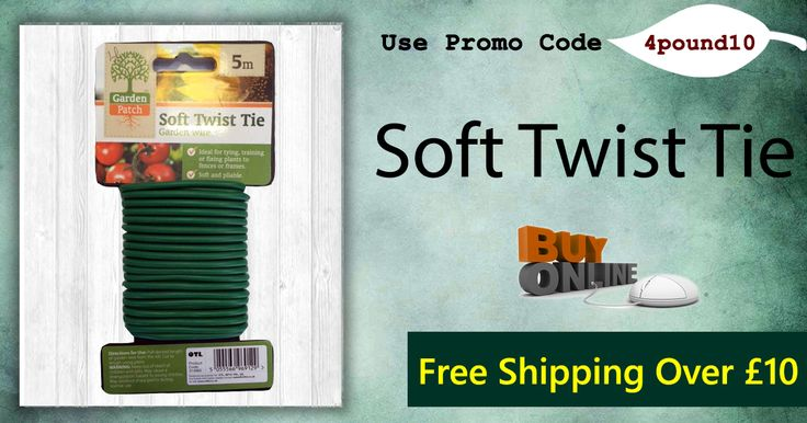 Buy Soft Twist Tie for £0.89. Order today to get 10% Off. Apply coupon code as 4pound10. #Free_Shipping Availability http://www.4pound.co.uk/soft-twist-tie