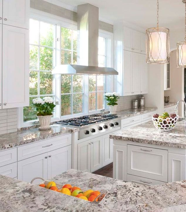 Image Result For Kitchens With Windows Behind Range In