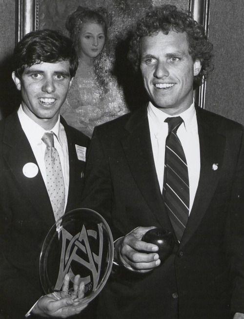Michael Kennedy and brother Joe Kennedy II