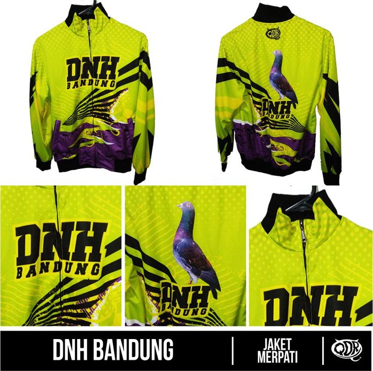 DNH Bandung Jaket Merpati Bahan: Lotto printing: sublimasi untuk pemesanan: BBM 543D3DBB Qdr online shop WA/LINE 081222970120