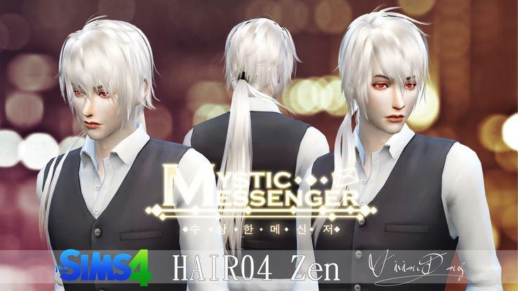 The Sims 4 - Zen Hair - THE SIMS ASIA