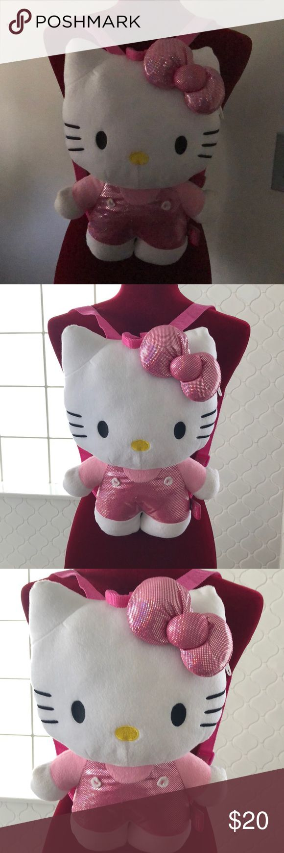 Hello Kitty Character Backpack Hello Kitty Character Back Pack Perfect condition Princess Hello Kitty Accessories