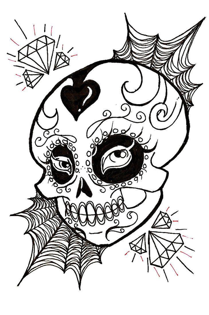 Ms de 25 ideas increbles sobre Imagenes de calaveras mexicanas