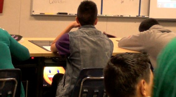 A student zoomed on his last earned smiley and kept it on his screen. As a classroom teacher turned edtech developer, this is incredibly rewarding to see.