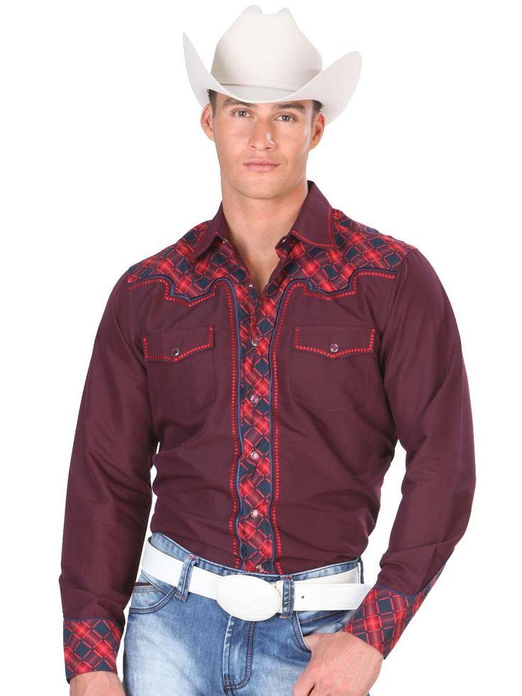 Encaje bordado 2015 primavera camisa vaquera de manga