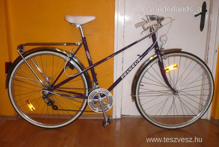 Peugeot Bretagne női országúti kerékpár, újszerű - Vatera.hu