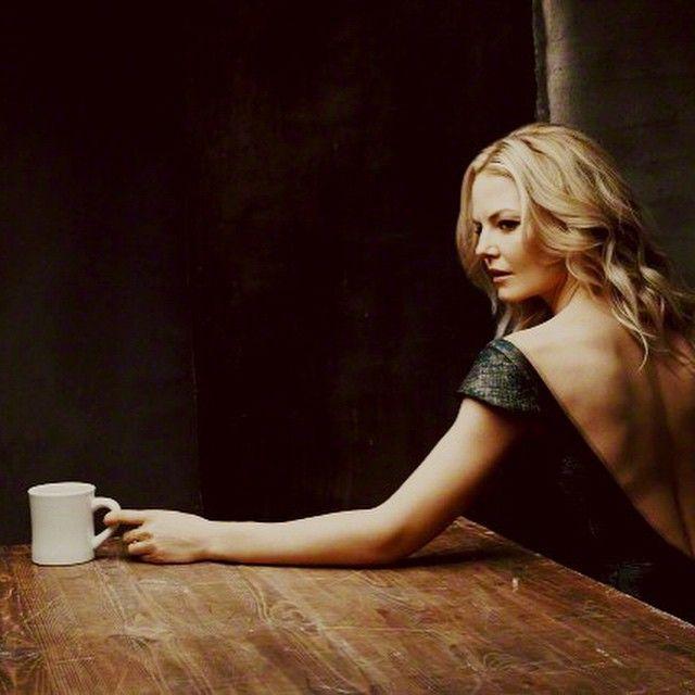 Jennifer Morrison - It's always about the coffee... Photo by  Pieter Henket for @WarningLblsFilm @tribeca #goodcoffee
