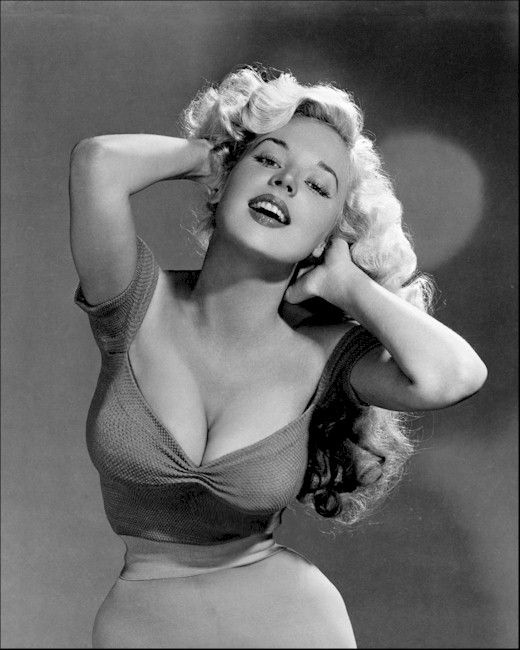 Betty Brosmer was one of many models....