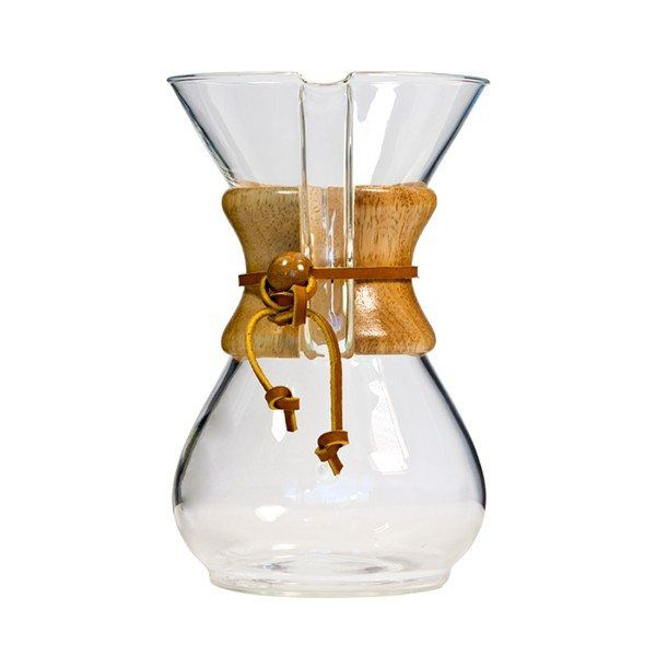 Invented in 1941, the Chemex Classic 6 Cup coffee makers remains a world-renowned coffee maker to this day. The hourglass…