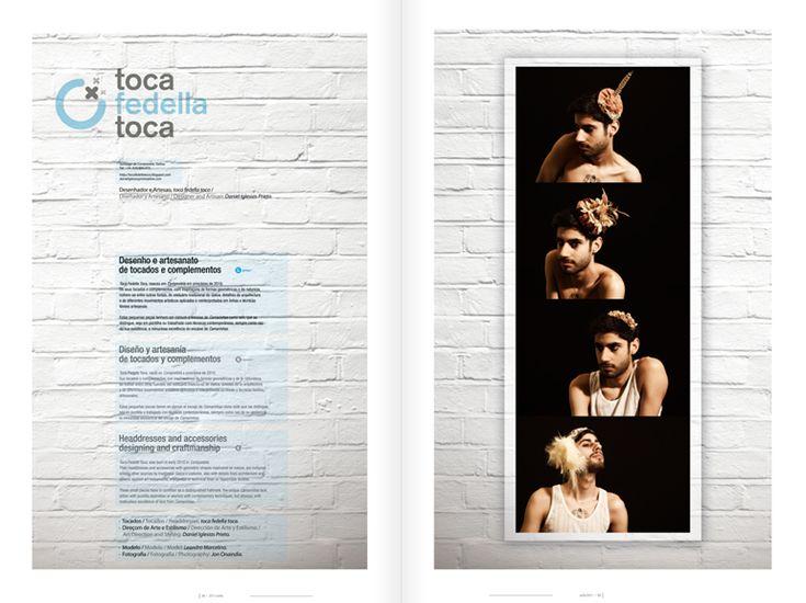 Revista Tintimám 02, Miranda estudio Vigo, Diseño de revistas, diseño editorial, diseño de catálogos, folletos, Toca fedella toca