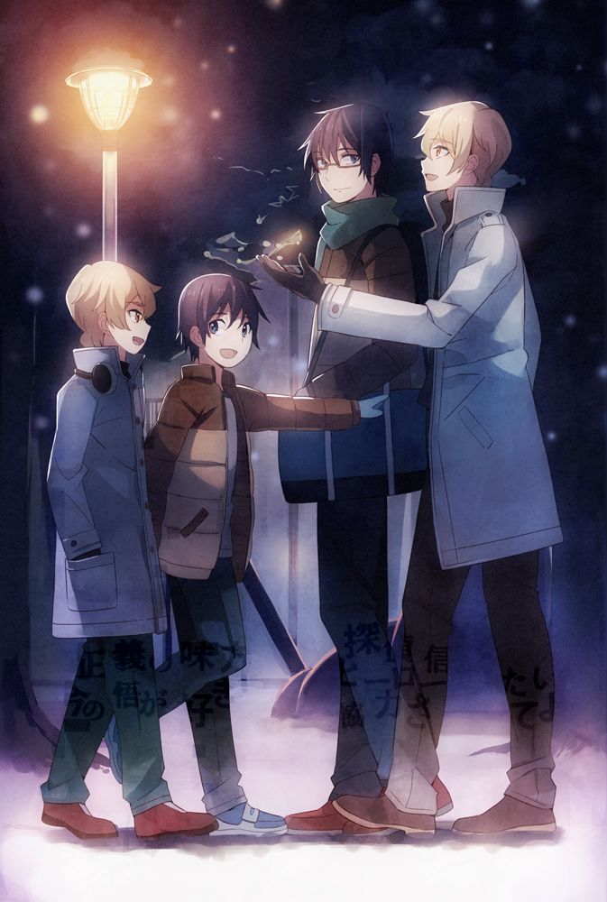 This image shows how, even though SAatoru was asleep for 15 years, Kenya still remained loyal to him from childhood to the present. Satoru's friends believe in hi and want to help him catch the killer.