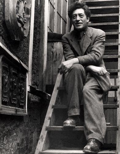 Alberto Giacometti (1901-1966), 1954    Photographer Ida Kar
