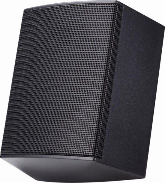 **$129.99 // Best Buy - LG - 120W Wireless Surround Sound Speaker Kit - works with select LG soundbars - Black - Alt_View_Zoom_12**
