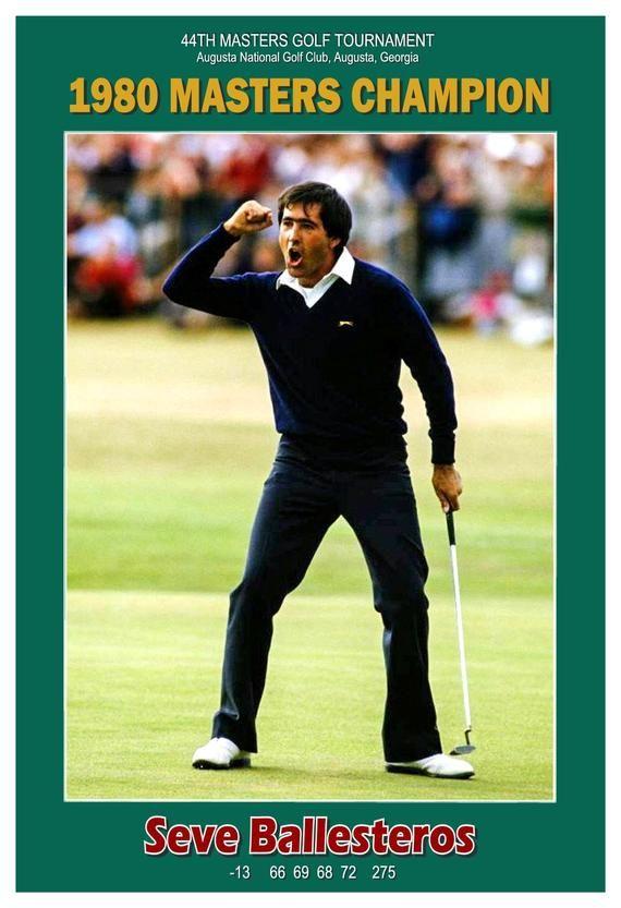 seve ballesteros 1980 masters golf