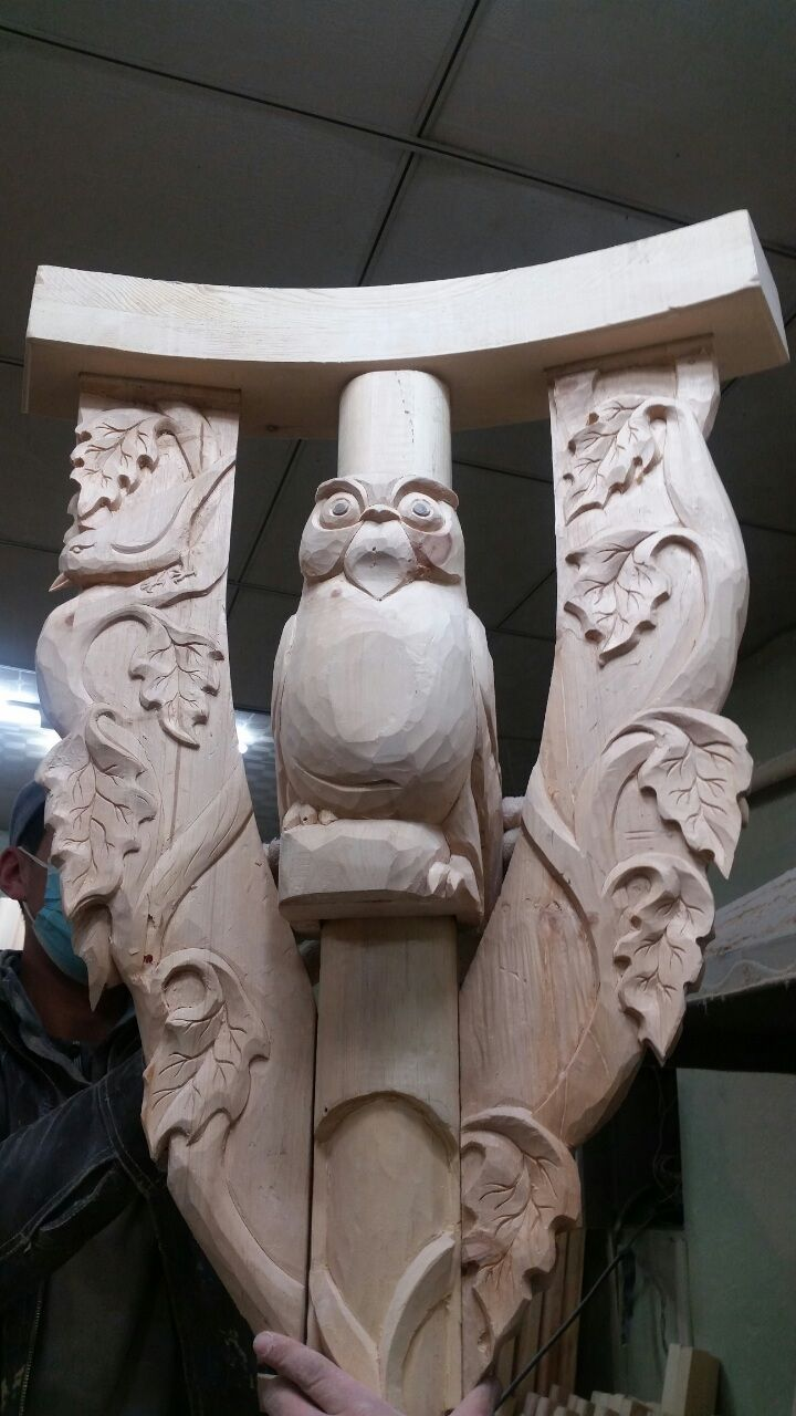 carving Owl