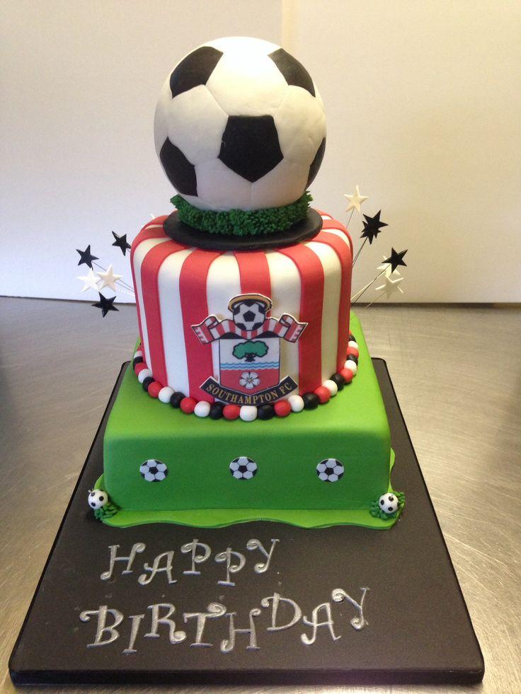 Best Celebration Cake Ideas Images On Pinterest Football Cakes - Football cakes for birthdays