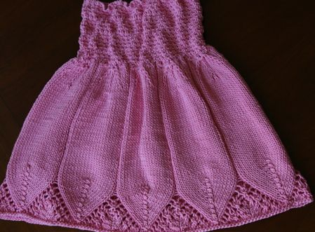 102 best Knitting: Baby / Girl Dresses images on Pinterest   Baby ...