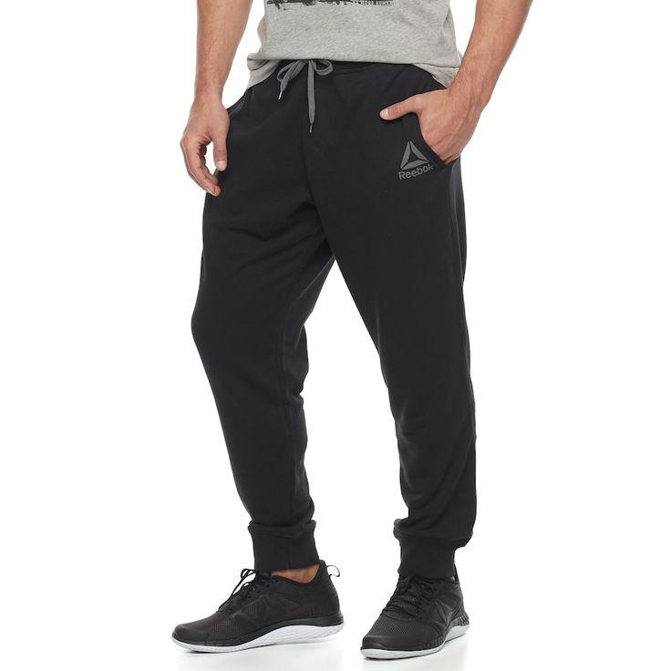 Boys 8-20 Reebok Stacked Jogging Pants, Size: Medium, Oxford