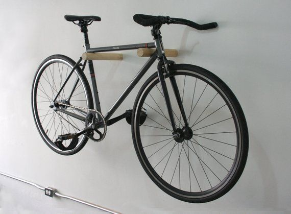 Wood Bike Rack Bike Hanger Bicycle Stand Bike Holder Wall Bike