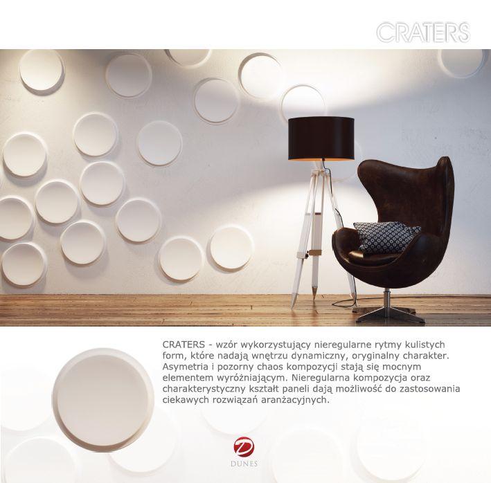 Decorative panel (NEW!) - CRATERS