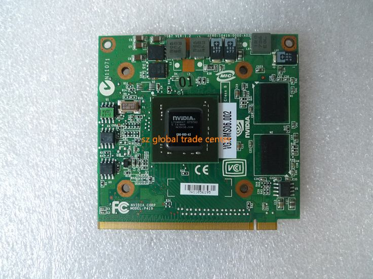 NVidia GeForce 8400 M GS MXM IDDR2 128 MB Carte Graphique Vidéo pour Acer Aspire 5920G 5520 5520G 4520 7520G 7520 7720 7720G Ordinateur Portable