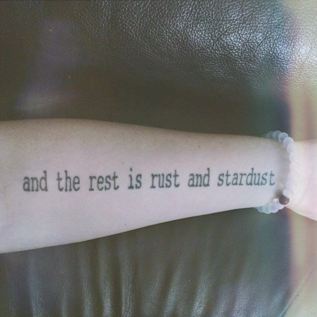 11 Gorgeous Literary Tattoos for Book Lovers via Brit + Co.
