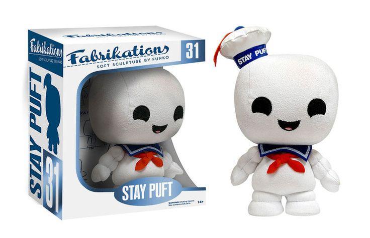 Ghostbusters Fabrikations Plüschfigur Stay Puft 14 cm