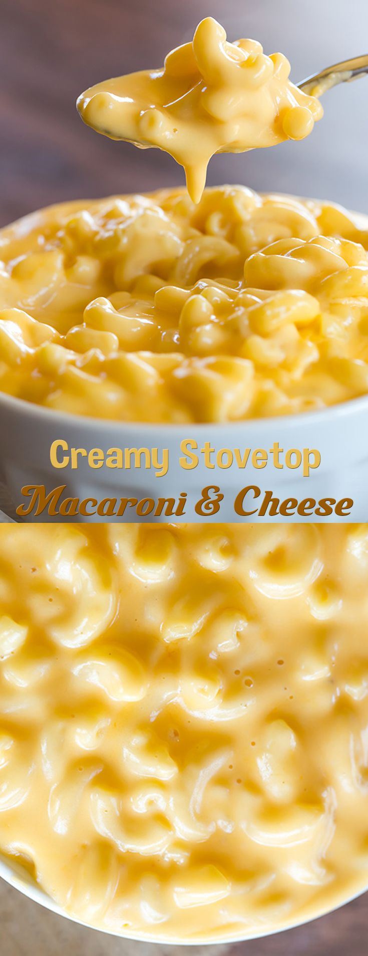 Creamy Stovetop Macaroni and Cheese                                                                                                                                                                                 More