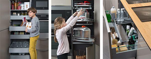 Colonnes de rangement et tiroir sous vier kitchen tiroir cuisine rangement et cuisine sur - Rangement sous evier cuisine ...