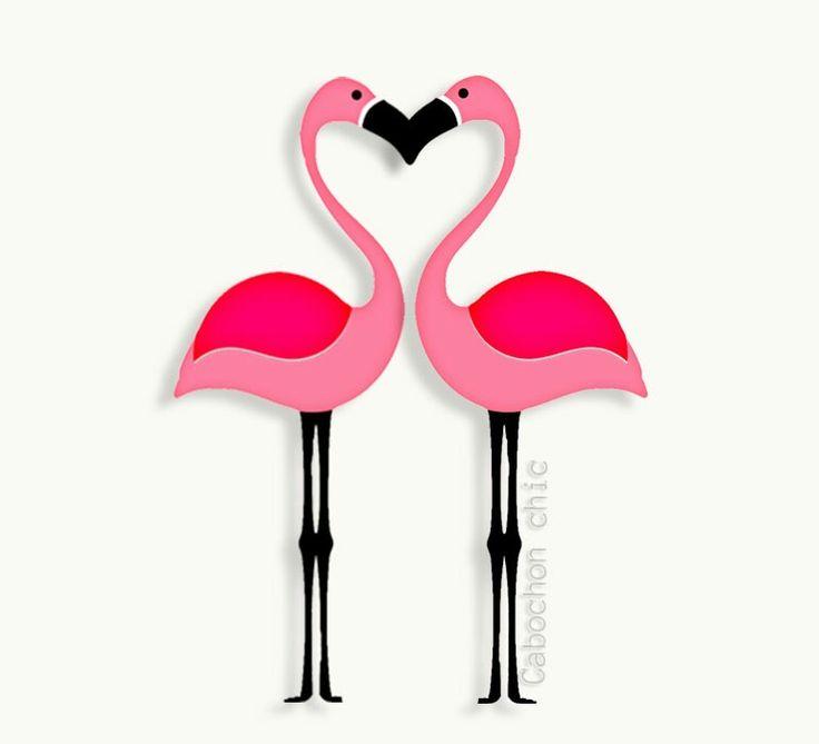 flamant rose coeur mes petites affiches citations. Black Bedroom Furniture Sets. Home Design Ideas