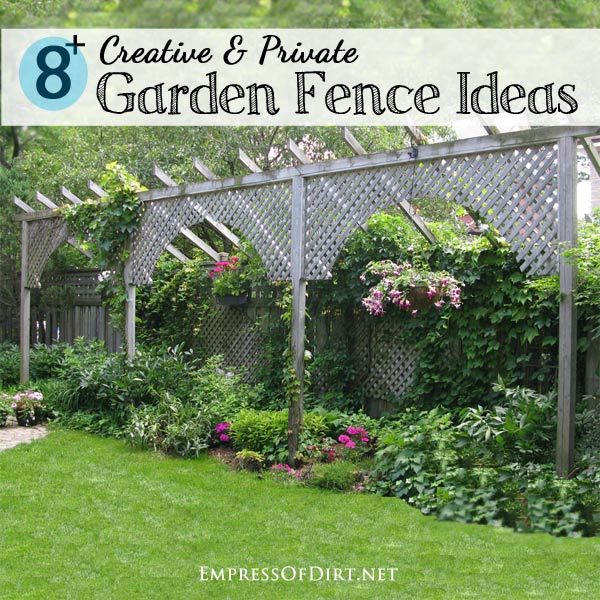 How to Make a Fence Taller   Privacy fences, Fences and Backyard
