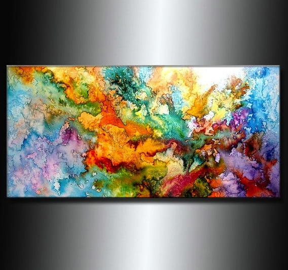25+ best ideas about Abstract watercolor on Pinterest | Abstract ...