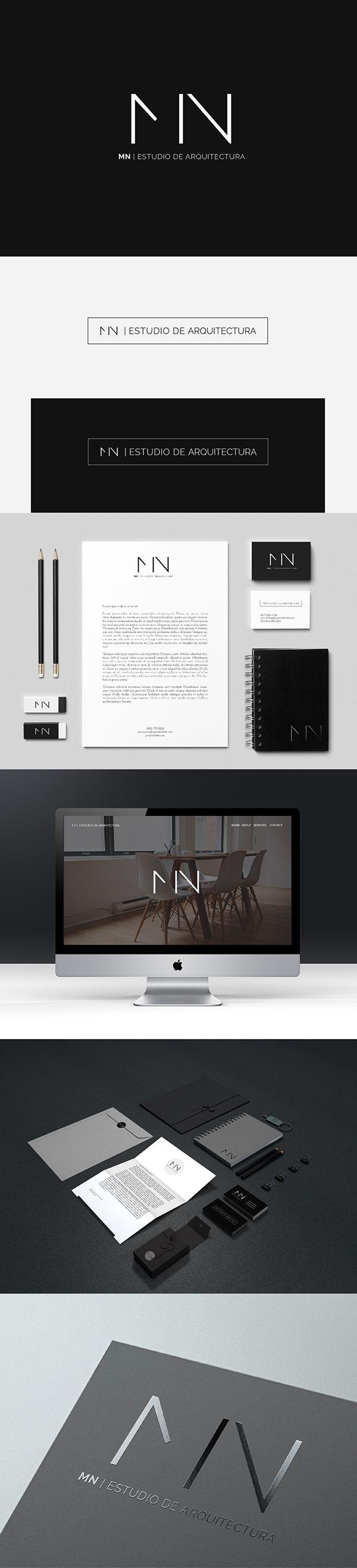 Branding para MN| ESTUDIO DE ARQUITECTURA