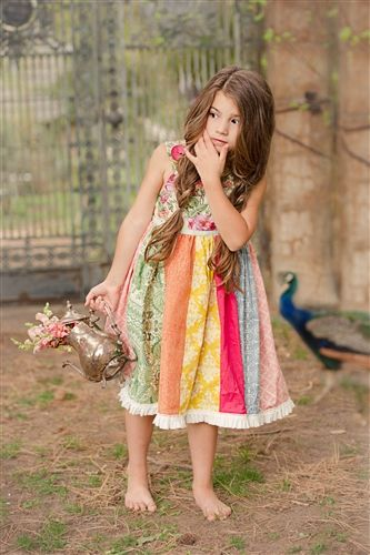 Persnickety Clothing - Garden Party Dress Multi