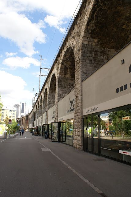 In Viaduct shopping - Zurich, Switzerland