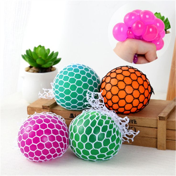 5CM Antistress Face Reliever Grape Ball toys 2016 Halloween Jokes Autism Mood Squeeze Relief Healthy Christmas Toys for children