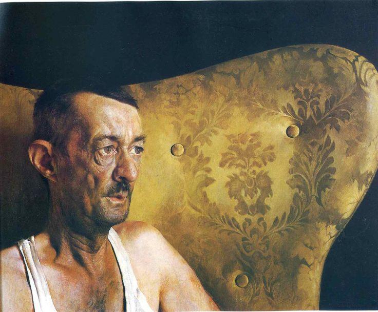 … В самом деле, талант! Этот портрет Уайет — младший нарисовал в 17 лет  Джейми Уайет. Портрет Шорти