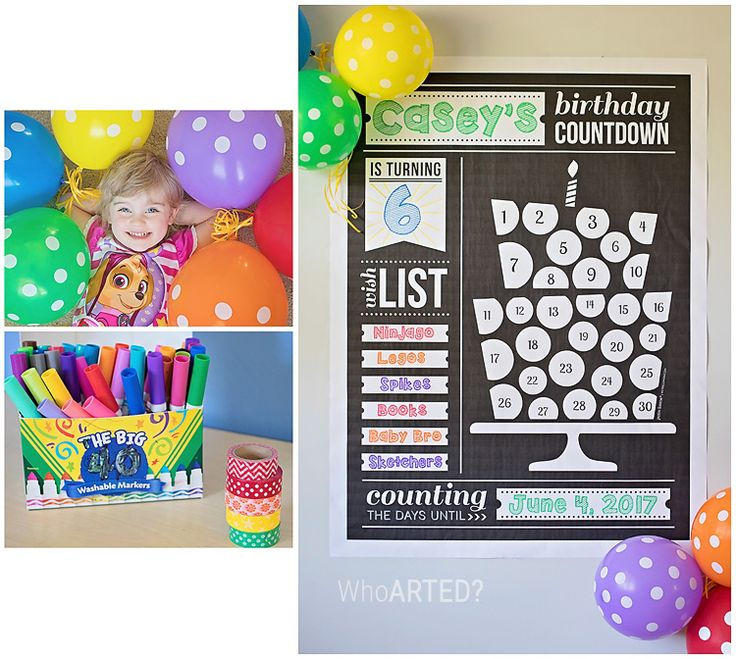 Best 20+ Birthday Countdown Ideas On Pinterest