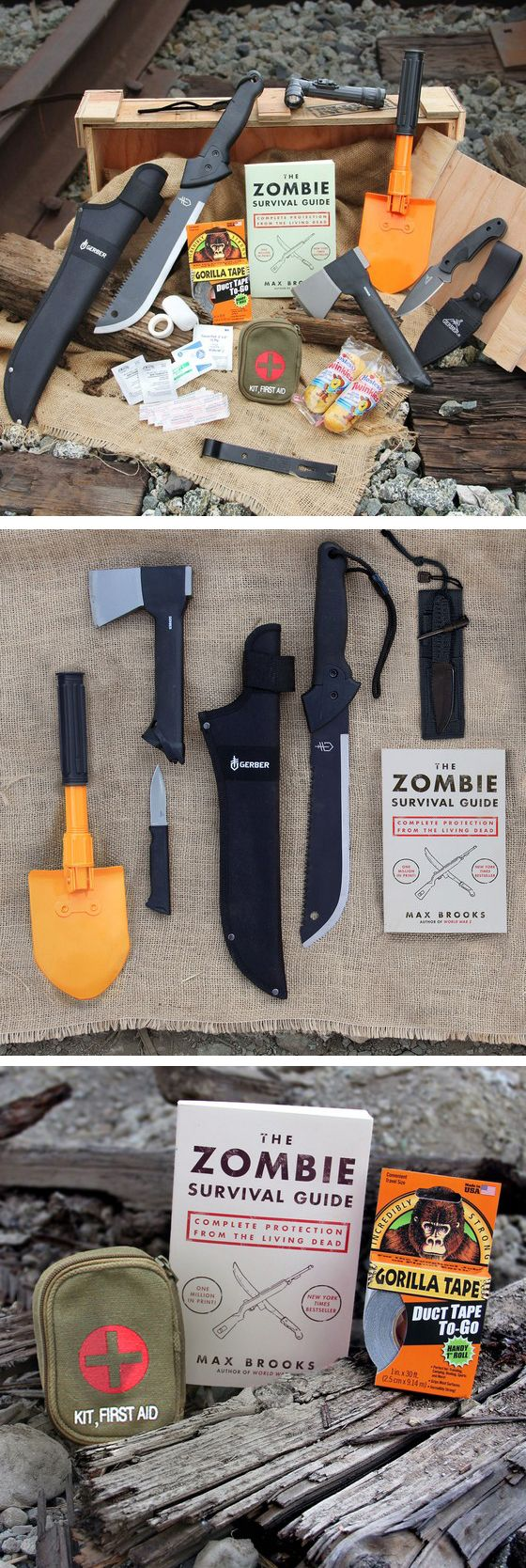 Zombie Survival Kit #fathersday