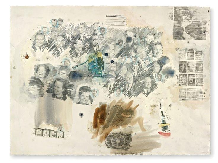 Robert Rauschenberg, Untitled, 1968, Offer Waterman