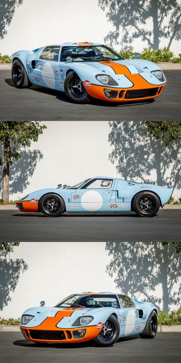 Bored Out Engine 1966 Ford Gt40 Replica With Images Ford Gt40