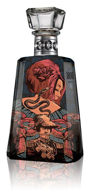 Tequilas customizadas no festival Essential Artists | Criatives | Blog Design, Inspirações, Tutoriais, Web Design
