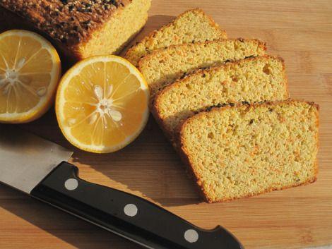 Gyllene rostbröd         Glutenfritt bröd med morot och citron