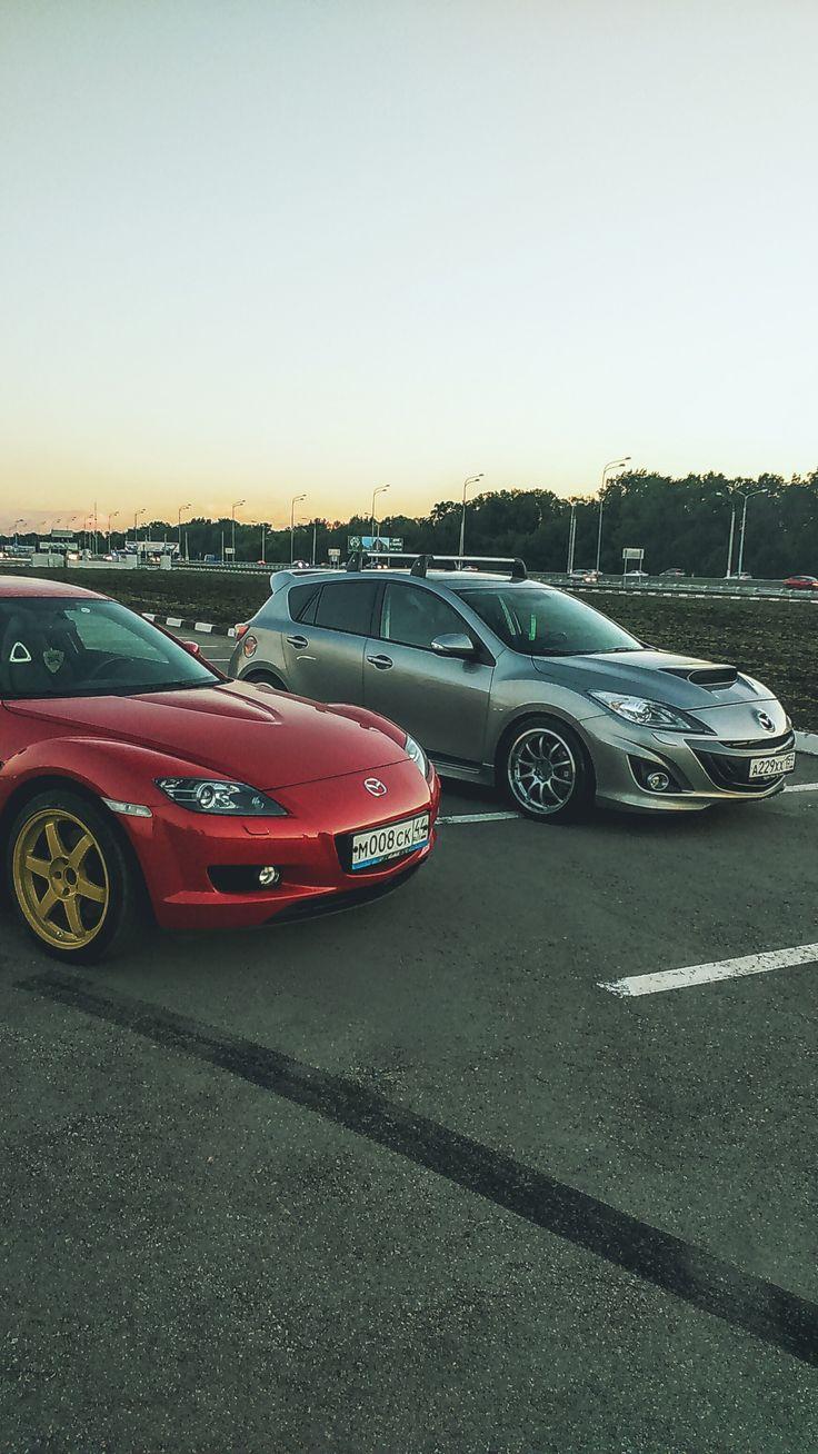 Mazda 3 MPS и Mazda RX-8